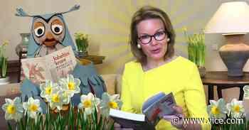 Vijf vragen over... de ongelofelijk vreemde toespraak van Koningin Mathilde - VICE Belgie