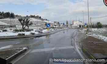 Maltempo in Puglia, temperature in calo: Gravina si sveglia imbiancata - Il Quotidiano Italiano - Bari