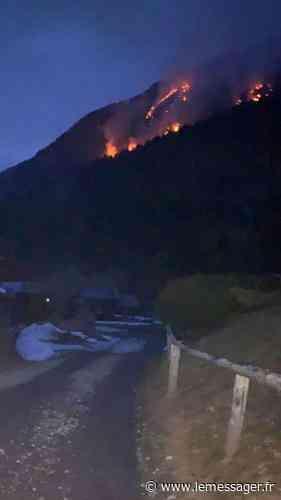 (VIDEO) Morzine : impressionnant feu de végétation dans les alpages - Le Messager
