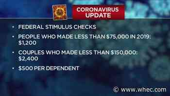 White House makes changes to coronavirus stimulus checks