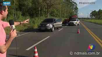 Araquari: Homem é assassinado na Estrada Rio do Morro - ND