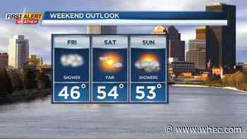 First Alert Weather Snapshot: Seasonable weather ahead