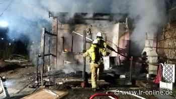 Feuer in Kleingärten: In Cottbus und Guben standen wieder Gartenlauben in Flammen - Lausitzer Rundschau