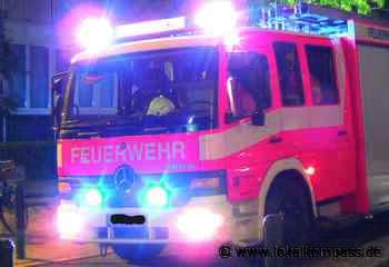 In Uedem brannten ein Kaminholzlager und ein Schuppen: Personen wurden zum Glück nicht verletzt - Lokalkompass.de