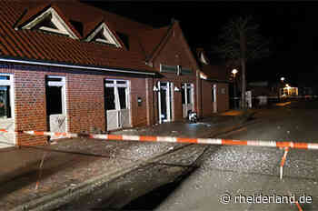 Geldautomaten in Bunde gesprengt - Rheiderland Zeitung