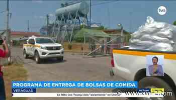 Santiago, Cañazas y Soná inician con la entrega de bolsas y bonos solidarios - TVN Panamá