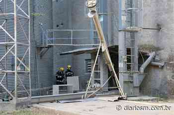 Princípio de incêndio assusta funcionários de silo em Santa Maria - Diário de Santa Maria