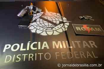 Homens são presos após roubos em Santa Maria - Jornal de Brasília