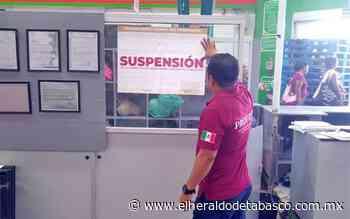 Realiza Profeco operativo sorpresa en Cárdenas y Huimanguillo - El Heraldo de Tabasco
