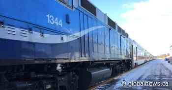 Exo's Candiac train line back up and running after dismantlement of Kahnawake rail blockade - Global News