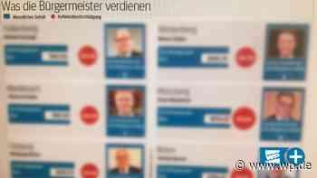 Gehaltscheck: Das verdienen Bürgermeister im Altkreis Brilon - Westfalenpost