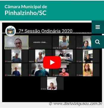 Câmara de Pinhalzinho é pioneira no Brasil em realização de sessão online - Portal DI Online