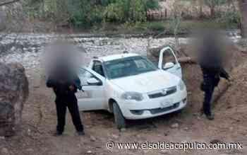 Aseguran camioneta con reporte de robo en Cocula - El Sol de Acapulco