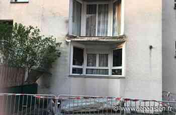 Bagneux : en plein confinement, un balcon s'effondre et les questions pleuvent - Le Parisien