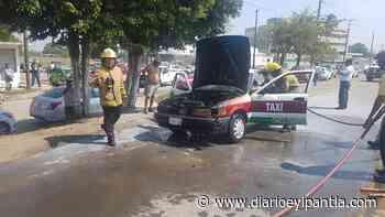 Se incendia taxi de Chacaltianguis, en Cosamaloapan - Diario Eyipantla
