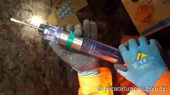 Tecnologia Vazante realiza primeira detonação wireless em mina subterrânea Unidade da Nexa é pioneira no uso - Paracatunews