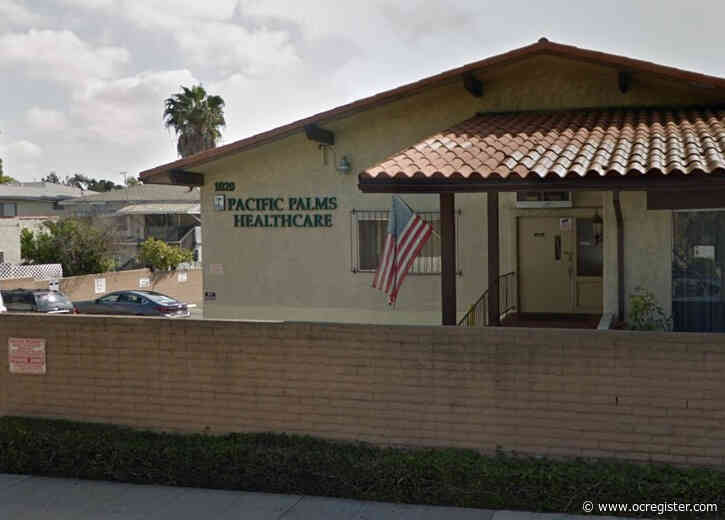 Resident in Pacific Palms Healthcare in Long Beach tests positive for coronavirus