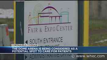 Dome Arena under consideration for temporary hospital amid pandemic