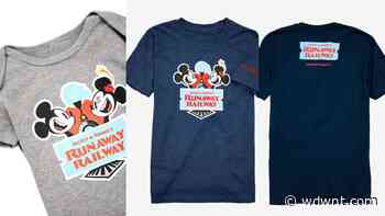 SHOP: New Mickey & Minnie's Runaway Railway Tees For the Whole Family Now on Sale at BoxLunch - wdwnt.com
