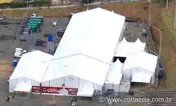 Centro de Combate ao Coronavírus de Cotia será finalizado na segunda-feira (6) - Cotia e Cia