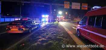 Verkehrsunfall mit ausgedehnter Ölspur in Forchheim - Der Neue Wiesentbote