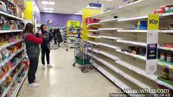 Data shows panic purchasing dying down