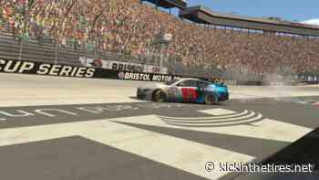 Luza goes back-to-back with eNASCAR Bristol win - Kickin' the Tires