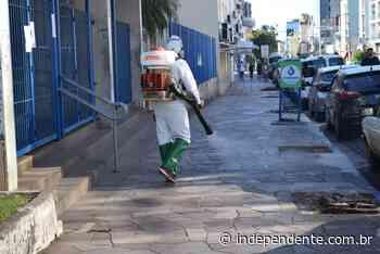 Lajeado começa a sanitização de ambientes públicos - independente