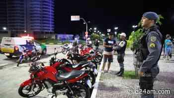 Polícia Polícia apreende motocicletas usadas em 'rachas', na zona oeste de Manaus A operação - D24am.com