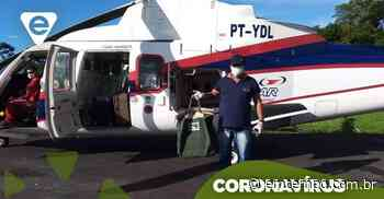 Testes de Covid-19 em Parintins são enviados por aeronave a Manaus - EM TEMPO
