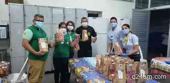 Coronavírus no Amazonas McDonald's doa refeições aos profissionais do Lacen, em Manaus A Fundação de Vigilância - D24am.com