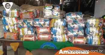 Campanha colhe doações e catadores de Manaus recebem cestas básicas - EM TEMPO