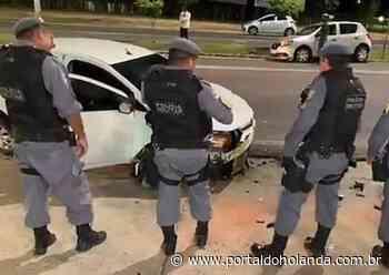 Em alta velocidade e sem CNH, motorista causa acidente violento em Manaus - Portal do Holanda