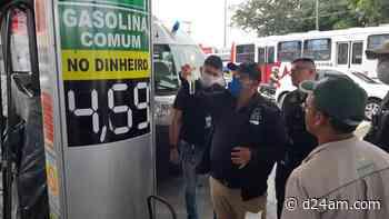 Economia Procon Manaus e ANP realizam fiscalização em postos de combustíveis Mesmo com a redução de - D24am.com