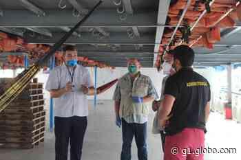Passageiros que desembarcam no Porto de Manaus passam a ser monitorados por app e entram quarentena - G1