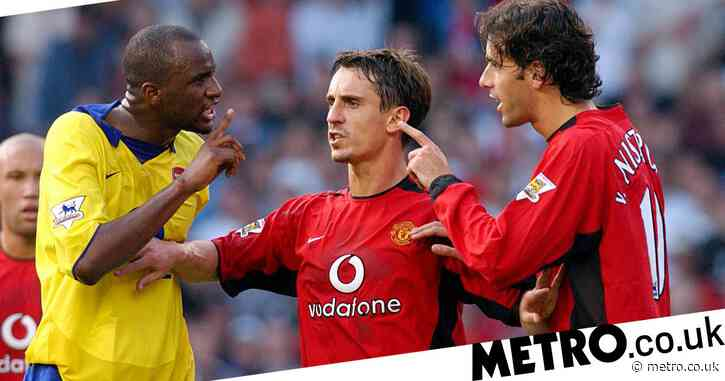 Gary Neville names Arsenal as the club he would have had joined had he left Manchester United