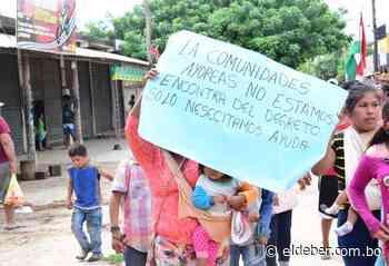 Cuarentena: Ayoreos esperan en Pailón por comida - EL DEBER