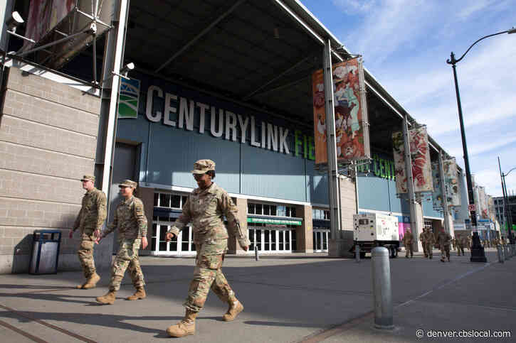 Coronavirus Pandemic: Fort Carson Soldiers Setting Up Field Hospital In Seattle