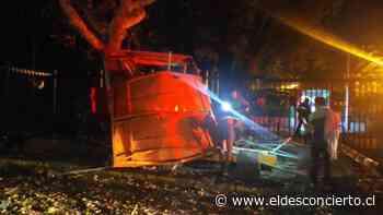 Bombazo despertó a medio Santiago: delincuentes revientan cajero en Cerro San Cristóbal - El Desconcierto