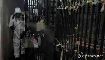 Protección Civil desinfectó calabozos de la Policía de San Cristóbal - El Pitazo