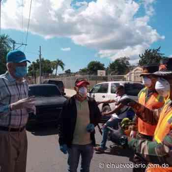 Alcaldía San Cristóbal realiza jornada de desinfección para combatir COVID-19 - El Nuevo Diario (República Dominicana)