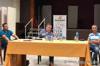 Michlig encabezó la primera reunión del Comité de Emergencia en San Cristóbal - El Litoral