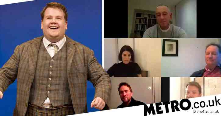 James Corden reunites with One Man, Two Guvnors cast as the National Theatre streams show on YouTube during coronavirus lockdown