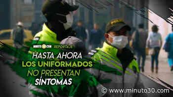VIDEO: Policías que fueron escupidos por sujeto aislado por coronavirus en Sabaneta están estables y en ... - Minuto30.com