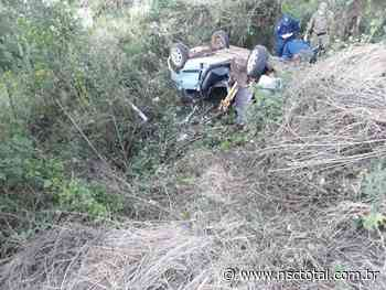Uma pessoa morre em acidente e três ficam gravemente feridas em Fraiburgo, no Meio Oeste de SC   NSC - NSC Total