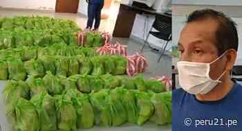 Trujillo: Alcalde de Santiago de Cao dona su sueldo y compra víveres para pobladores de bajos recursos - Diario Perú21