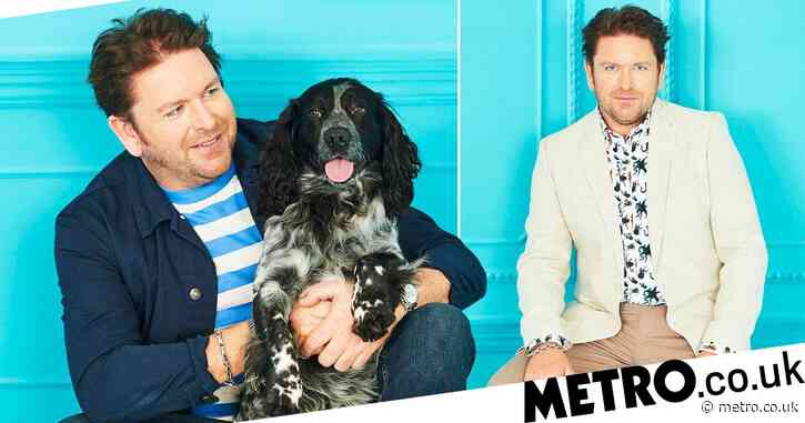 James Martin got a shock when he saw himself on widescreen TV: 'I look massive'