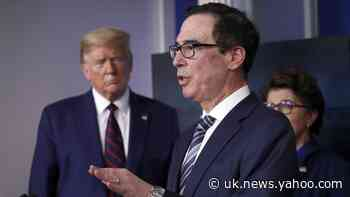 Secretary Mnuchin says first coronavirus economic stimulus payments will reach taxpayers within two weeks
