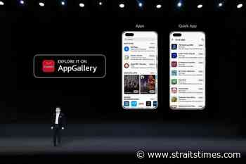 More apps for Huawei's AppGallery, Smartphones News & Top Stories - The Straits Times