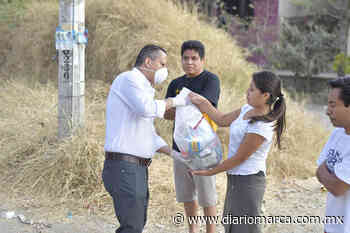 Entrega Gobierno Municipal de Oaxaca apoyos alimentarios en Guadalupe Victoria - Diario Marca de Oaxaca